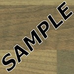 Blocked Walnut Duropal Sample