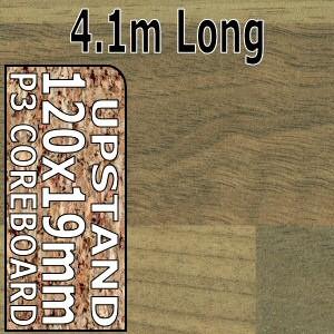 Blocked Walnut Upstand 4.1m