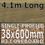 Blocked Walnut Worktop 4100mm
