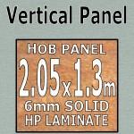 Brushed Aluminium Hob-Panel