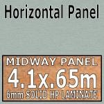 Brushed Aluminium Midway-Panel