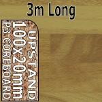 Butcher Block Medium Upstand 3m upstand