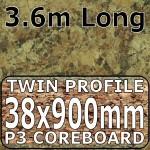 Axiom Butterum Granite Etched Breakfast Bar 3.6m