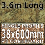 Axiom Butterum Granite Etched Worktop 3.6m