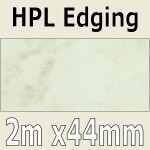 Caldera Marble Laminate Edging 2m