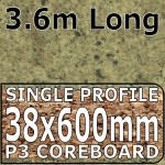 Axiom Cappuccino Stone Worktop 3.6m