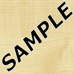 Clear Maple Formica Sample