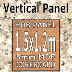 Cornish Granite Hob Panel 1500mm