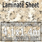 Cornish Granite Laminate Sheet 4120mm X 1400mm