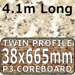 Cornish Granite Worktop Breakfast Bar 4100mm