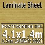 Cotswold Beech Laminate Sheet 4120 Mm X 1400 mm