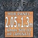 Crystal Black Hob-Panel