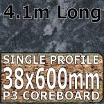 Crystal Black Worktop 4100mm
