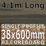 Ebony Stripwood Worktop 4100mm