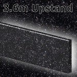 Black Sparkle Upstand 3600mm