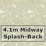 Calico Midway Splashback 4100mm