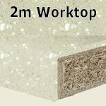 Calico Worktop 2m