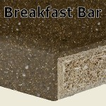 Chocolate Sparkle Breakfast Bar 2400mm