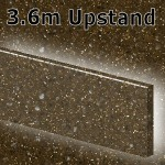 Chocolate Sparkle Upstand 3600mm