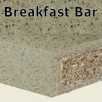 Cinnamon Breakfast Bar 2400mm
