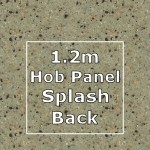 Cinnamon Hob Panel Splashback 1220mm