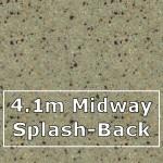 Cinnamon Midway Splashback 4100mm