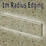 Cinnamon Radius Edging 1020mm