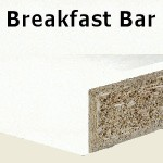 Glacier Breakfast Bar 2400mm