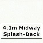 Glacier Midway Splashback 4100mm