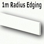 Glacier Radius Edging 1350mm