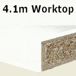 Glacier Worktop 4100mm