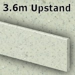 Pearl Grey Upstand 3600mm