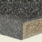 Storm Worktop 2m
