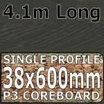 Figured Wenge Worktop 4100mm