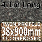 Granite Black Brown Breakfast Bar 4100mm