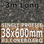 Granite Black Brown Worktop 3000mm
