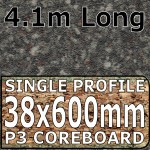 Granite Black Brown Worktop 4100mm
