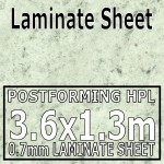 Imperial White Laminate Sheet 3660 Mm X 1320 mm