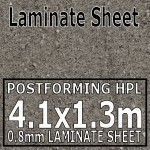 Ipanema Grey Laminate Sheet 4.1 x 1.3m