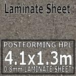 Ipanema Grey Laminate Sheet 4.1 x 1.3m
