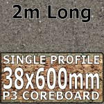 Ipanema Grey Worktop 2m