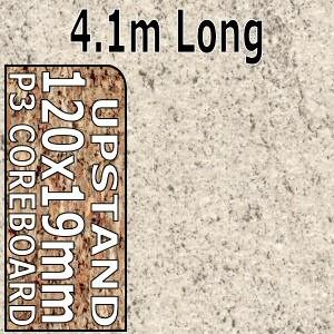 Ipanema White Upstand 4.1m