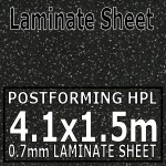 Iquitos Noir Laminate Sheet 4120mm X 1510mm