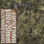 Jamocha Granite Upstand 3m Gloss
