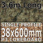 Jamocha Granite Worktop 3.6m Gloss