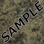 Jamocha Granite Etched Laminate Sample