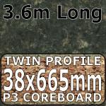 Axiom Kerala Granite Narrow Breakfast Bar 3.6m