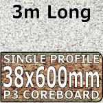 Lava Dust Worktop 3000mm