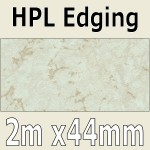 Light Marble Laminate Edging 2m