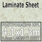 Light Marble Laminate Sheet 4100mm X 1300mm